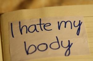 i hate my body