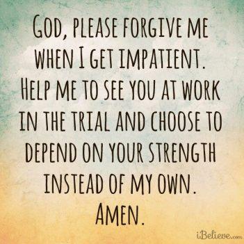 HELP ME LORD PRAYER