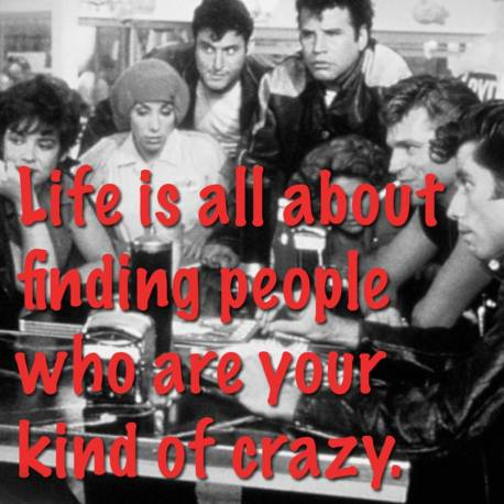 FINDING YOUR KIND OF CRAZY