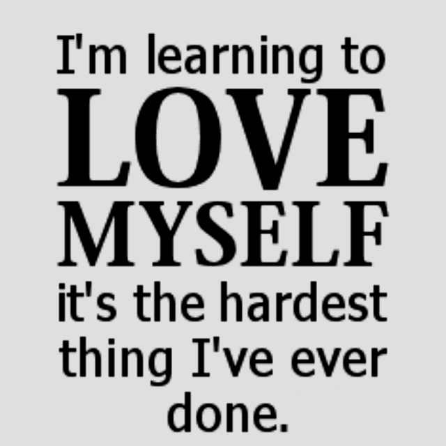 LEARNING TO LOVE ME